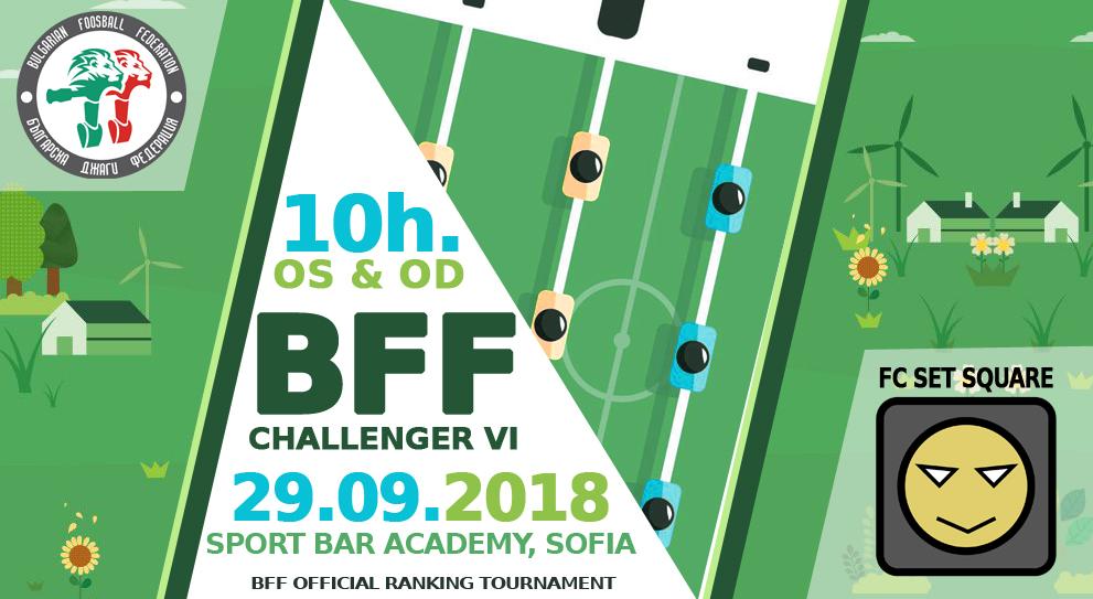 BFF IV Foosball Tournament 2018