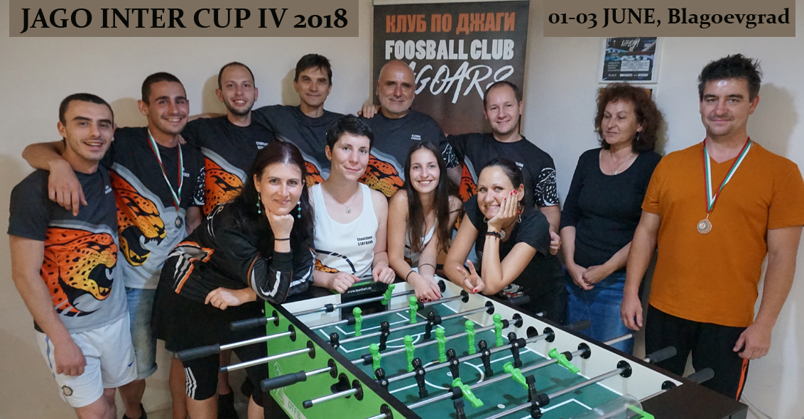 Jago Inter Cup - International Pro Tour Foosball / Table Soccer Event 2018