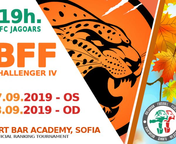 BFF Challenger OS and OD VII -17 & 18 Sept 2019