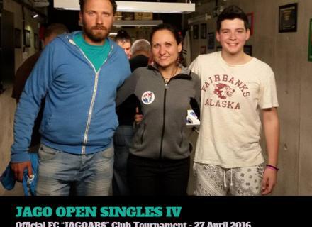 Jago Open Singles IV - 27.04.2016