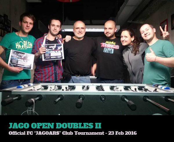 Jago Open Doubles II - 23.02.2016