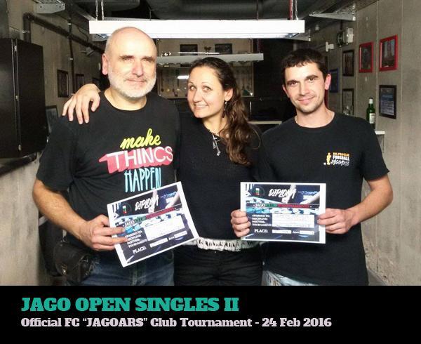 Турнир по джаги 2016 - Jago Open Singles II 2016