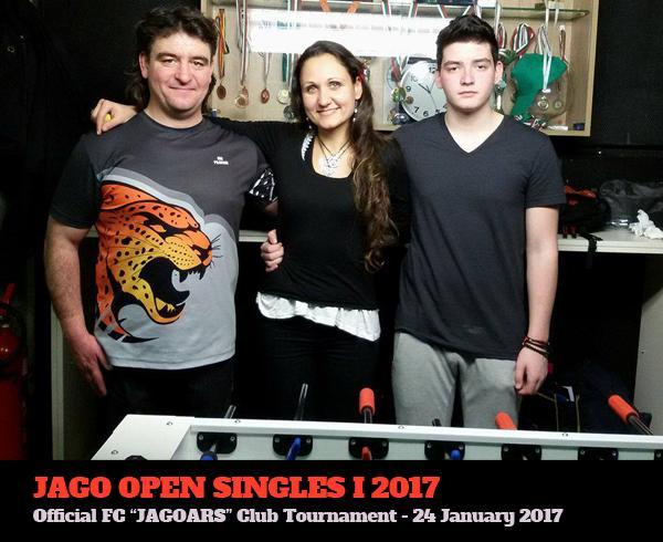 Вътрешноклубен турнир по единици джаги 2017
